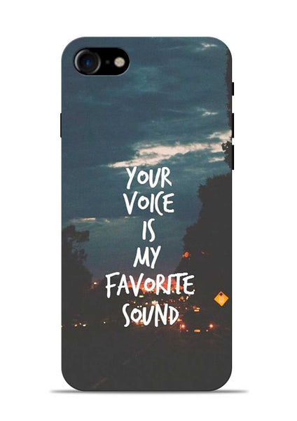 Your Voice iPhone 8 Mobile Back Cover
