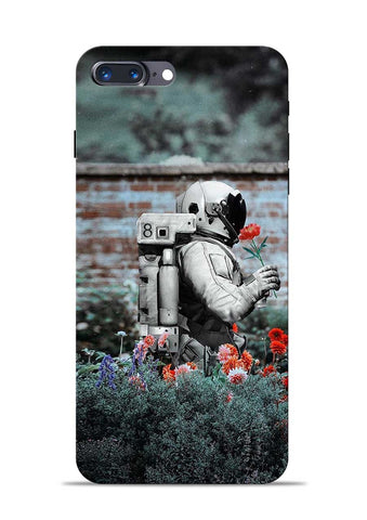 Astronaut Garden iPhone 8 Plus Mobile Back Cover