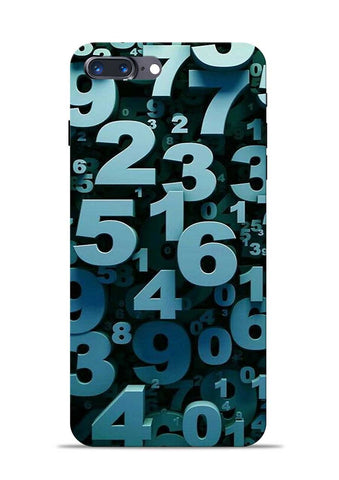 The Numbers iPhone 8 Plus Mobile Back Cover