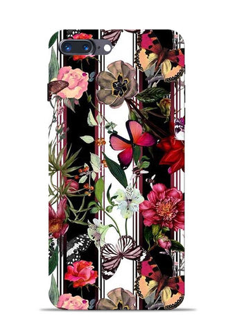 Butterfly Flower iPhone 8 Plus Mobile Back Cover