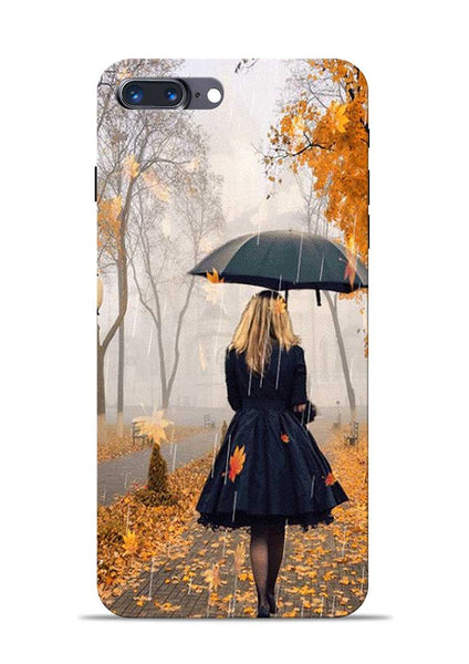 Walk In A Rain iPhone 8 Plus Mobile Back Cover