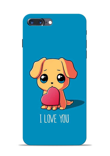 The Love iPhone 8 Plus Mobile Back Cover