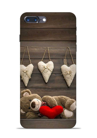 Teddy Love iPhone 8 Plus Mobile Back Cover