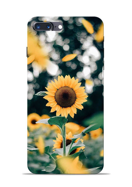 Sun Flower iPhone 8 Plus Mobile Back Cover