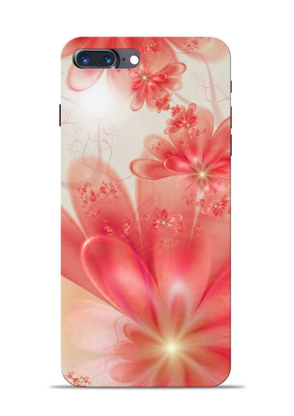 Glowing Flower iPhone 8 Plus Mobile Back Cover