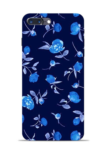 The Blue Flower iPhone 8 Plus Mobile Back Cover