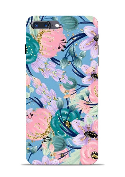 Lovely Flower iPhone 8 Plus Mobile Back Cover