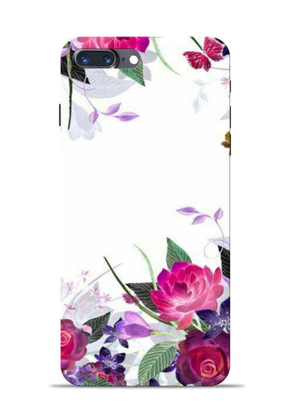 The Great White Flower iPhone 8 Plus Mobile Back Cover