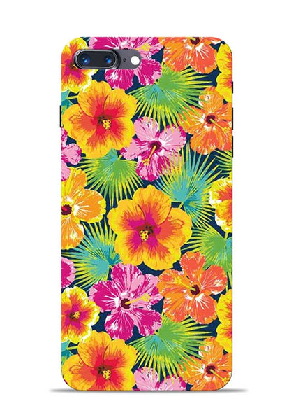 Garden Of Flowers iPhone 8 Plus Mobile Back Cover