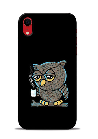 Sleepy Owl iPhone XR Mobile Back Cover