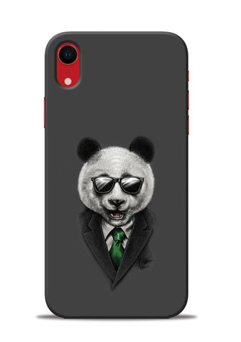 Cool Panda iPhone XR Mobile Back Cover