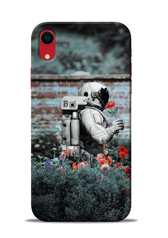 Astronaut Garden iPhone XR Mobile Back Cover