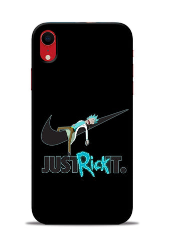 Just Rick It iPhone XR Mobile Back Cover