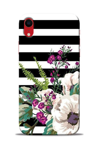 Lovely Flowers iPhone XR Mobile Back Cover