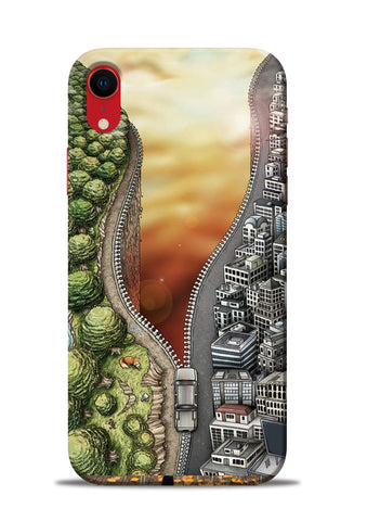 Forest City iPhone XR Mobile Back Cover