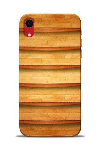 Wooden Texture iPhone XR Mobile Back Cover