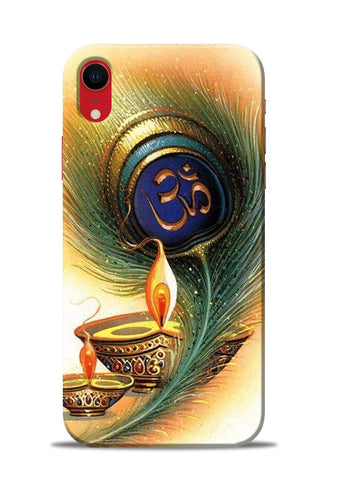The Glowing Diya iPhone XR Mobile Back Cover