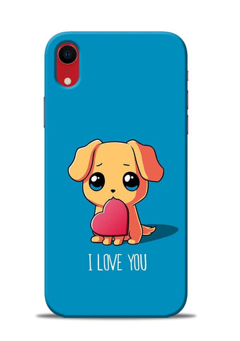 The Love iPhone XR Mobile Back Cover