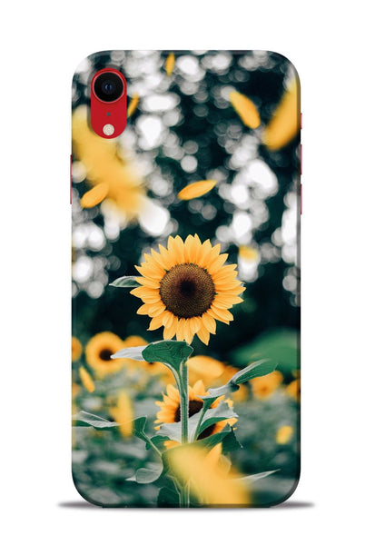 Sun Flower iPhone XR Mobile Back Cover