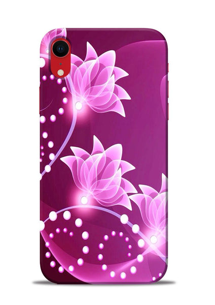 Pink Flower iPhone XR Mobile Back Cover