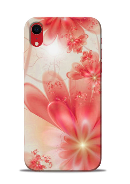 Glowing Flower iPhone XR Mobile Back Cover