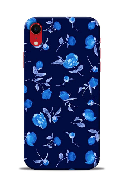 The Blue Flower iPhone XR Mobile Back Cover