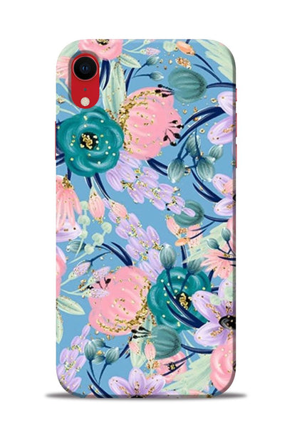 Lovely Flower iPhone XR Mobile Back Cover