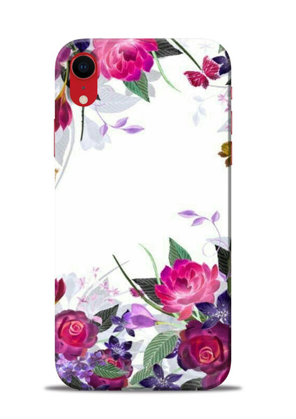 The Great White Flower iPhone XR Mobile Back Cover