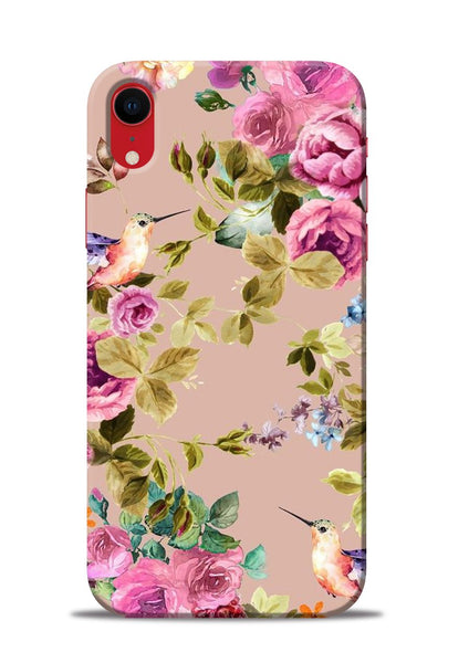 Red Rose iPhone XR Mobile Back Cover