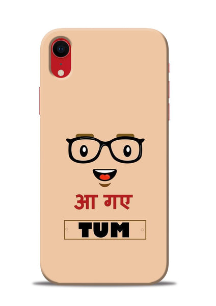 Agaye Tum iPhone XR Mobile Back Cover