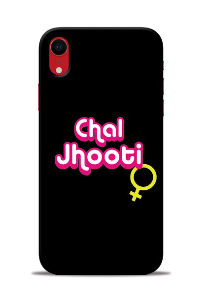 Chal Jhooti iPhone XR Mobile Back Cover