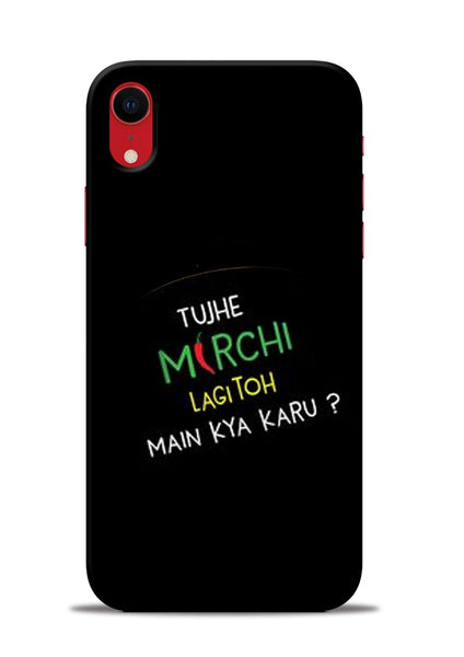 Mirchi Lagi To iPhone XR Mobile Back Cover