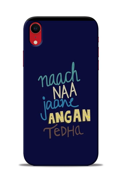 Angan Tedha iPhone XR Mobile Back Cover
