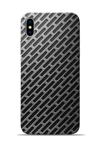 Grey Stride iPhone XS Max Mobile Back Cover