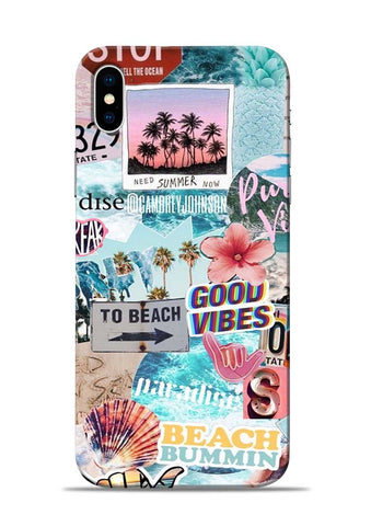 Beach Lover iPhone XS Max Mobile Back Cover