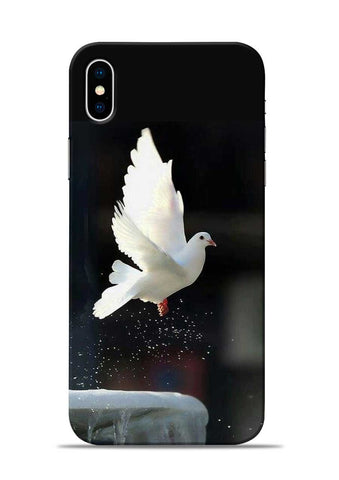 The White Bird iPhone XS Max Mobile Back Cover