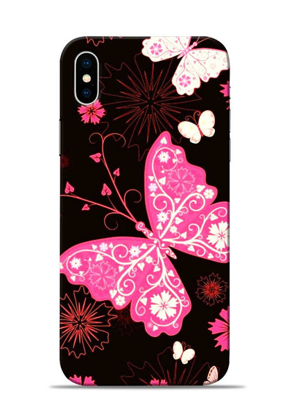The Butterfly iPhone XS Max Mobile Back Cover