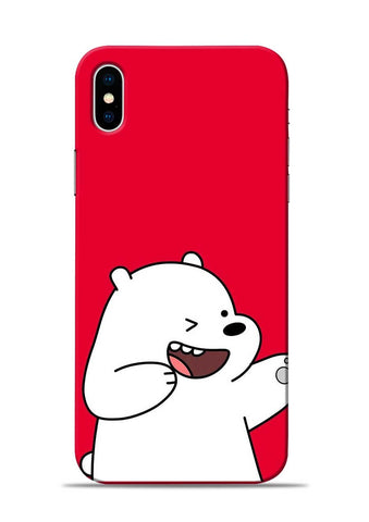 Dancing Panda iPhone XS Mobile Back Cover