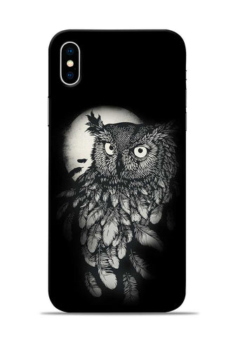 Moon Owl iPhone XS Mobile Back Cover