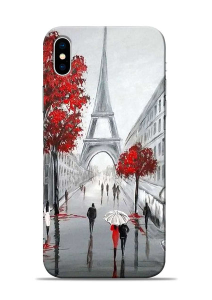 Eiffel Tower iPhone XS Mobile Back Cover