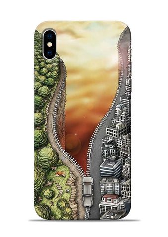 Forest City iPhone XS Mobile Back Cover