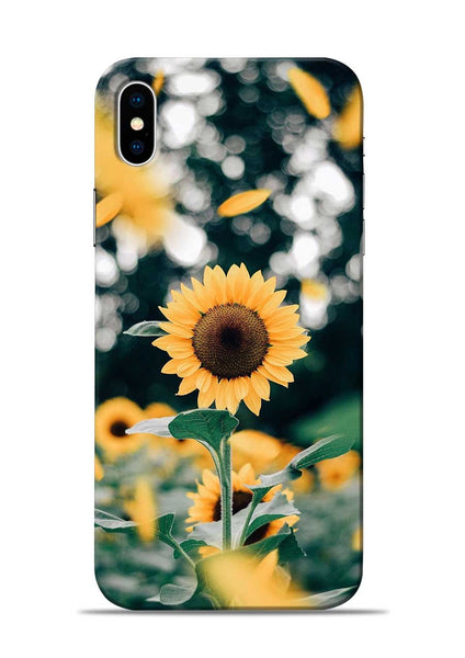Sun Flower iPhone XS Mobile Back Cover