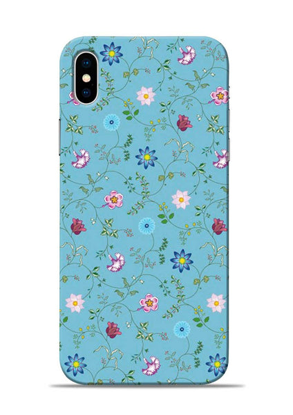 Fallen Flower iPhone XS Mobile Back Cover