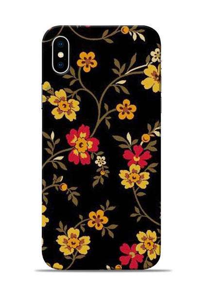 Rising Flower iPhone XS Mobile Back Cover