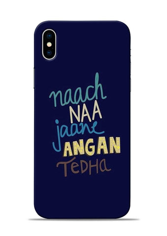 Angan Tedha iPhone XS Mobile Back Cover