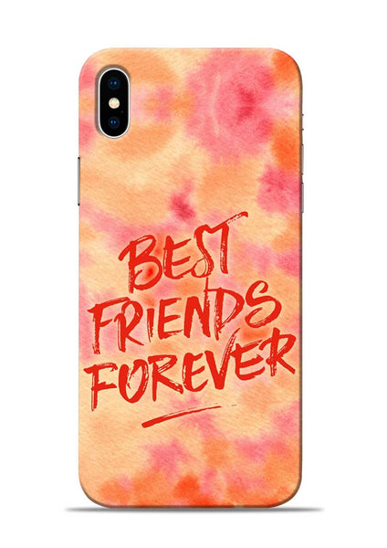 Best Friends Forever iPhone XS Mobile Back Cover