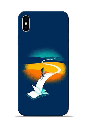 White Pages iPhone X Mobile Back Cover