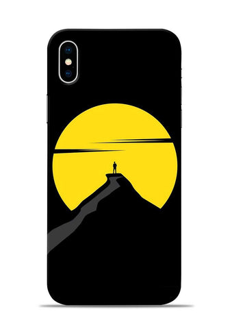 Long Walk iPhone X Mobile Back Cover