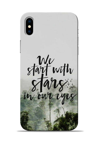 Stars In Eye iPhone X Mobile Back Cover
