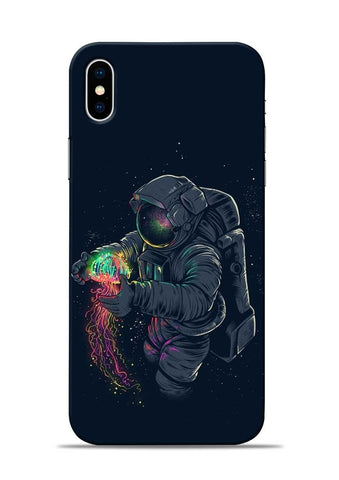 Astronaut Landed iPhone X Mobile Back Cover